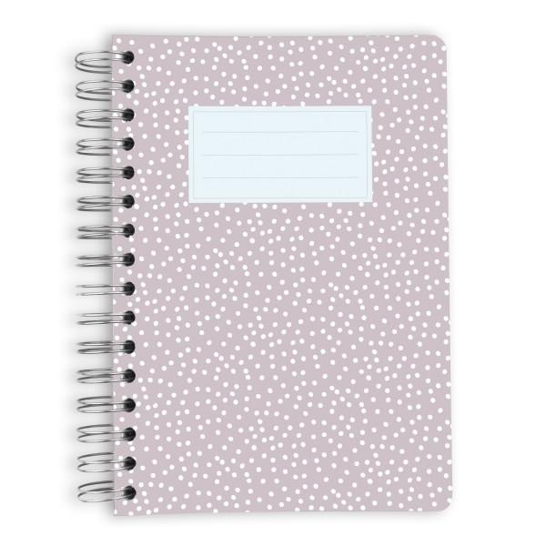 Taupe With Dots - 120 Blatt